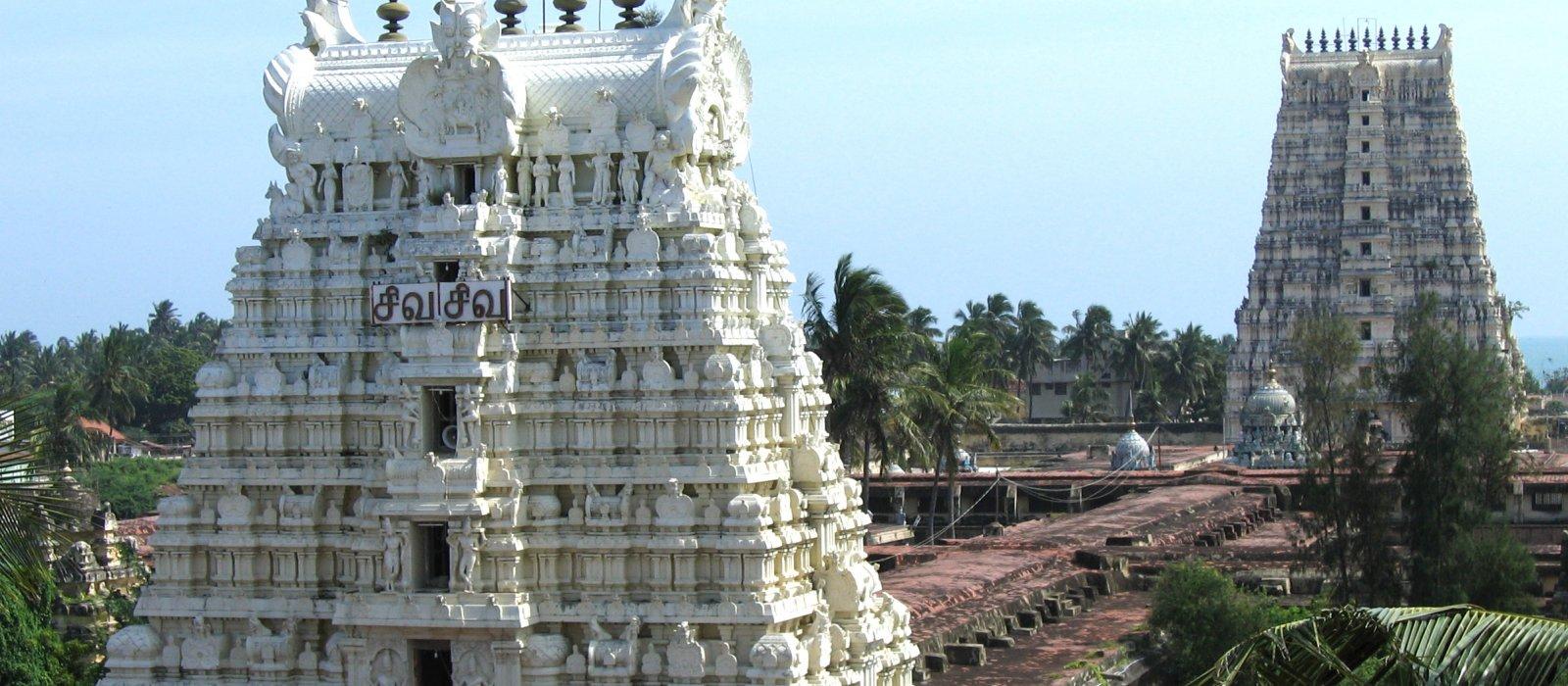 Rameshwaram and Kanyakumari